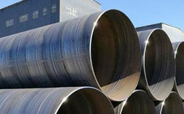 API 5L X80 carbon spiral welded steel pipe