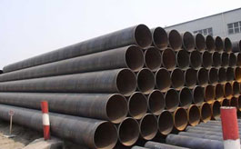 ASTM a252 grade 3 carbon steel pipes black