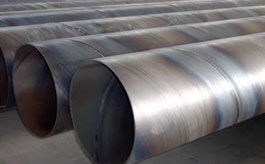 ASTM A252 Grade 3 Piling Welded SSAW Carbon Spiral Steel Pipes