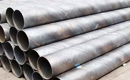 Carbon steel spiral pipes